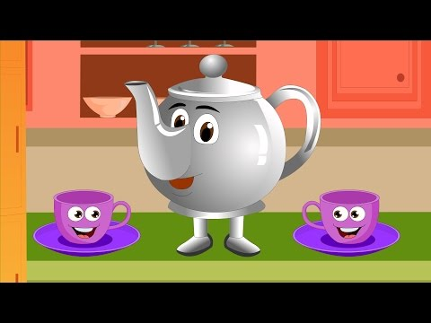 Mamai Punchi Kethale | මමයි පුංචි ෙක්තෙල් | I'm a Little Teapot in Sinhala | Baby Song