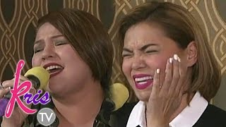 Kris TV: 'Through The Fire' singing showdown with Karla and K