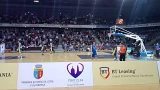 U-BT Cluj - CSU Sibiu, sfert 4, final de meci. 91-80