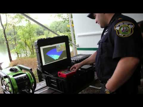 Bergen county police demo underwater search robot