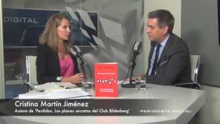 copiaCristina Martín, autora de 'Perdidos  Los planes secretos del Club Bildeberg'  30 5 2014