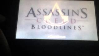 assassins creed bloodlines memory block 1 part 1 king maria