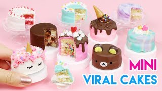 How to Make Mini Cakes - Popular/Viral Edition! (100% Edible)