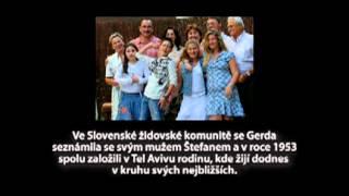 Vzpomínky Židovky Gerdy Buechler na utrpení války a holocaustu.