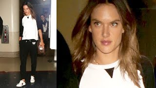 Alessandra Ambrosio  Is Asked About Terry Richardson As The Sexual Misconduct Scandals Explode