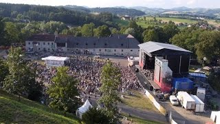Harvest of Art 2016 auf der Burg Clam - mit Element of Crime