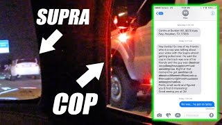 NO WAY! We Got Some NEWS About The Supra/Sheriff Video!