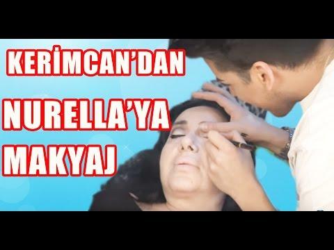TV'DE YOK | Kerimcan Durmaz, Nur Yerlitaş'a Nasıl Makyaj Yaptı?