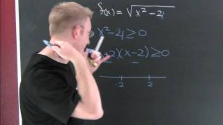 Domain of Radical Functions