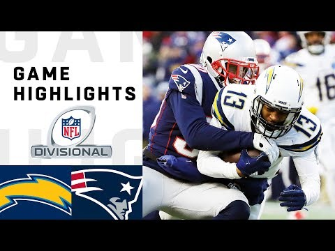 Xxx Mp4 Chargers Vs Patriots Divisional Round Highlights NFL 2018 Playoffs 3gp Sex