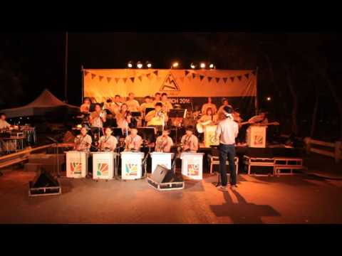 Mambo NO 5 KKU BIG BAND  Live in Art Lanes 13