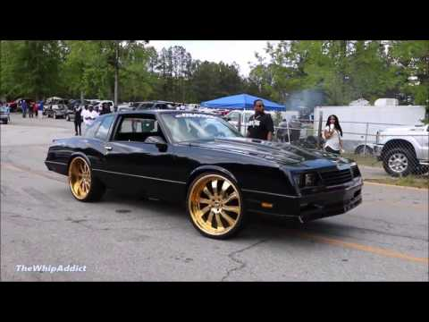 WhipAddict Chevrolet Monte Carlo SS LSX on Gold Forgiato Inferno 24s by In & Out Customs