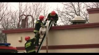 KFC on fire (pożar KFC w Sopocie)