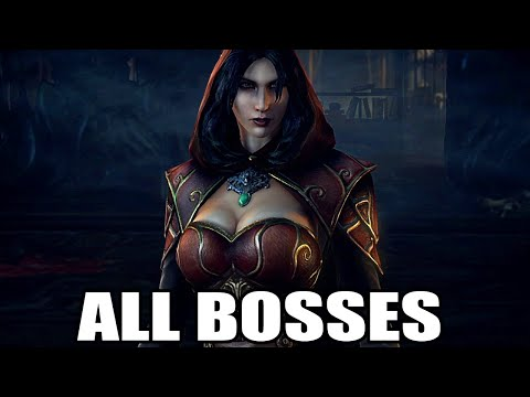 Castlevania: Lords of Shadow 2 - All Bosses (With Cutscenes) HD 1080P 60FPS