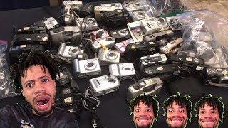 Giant Thirft Shop Camera Sale. Got Sony HandyCam CCD-TR516, CCD-SC5 And JVC GZ-MG630RU