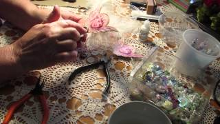 Tutorial ....How To Create A Button Fairy/Angel Part 2 ...My First Tutorial