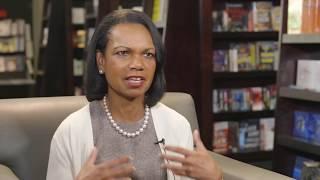 Condoleezza Rice talks religion, confederate monuments, and energy policy
