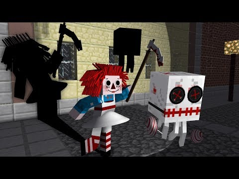 Monster School: Halloween Edition - Minecraft Animation