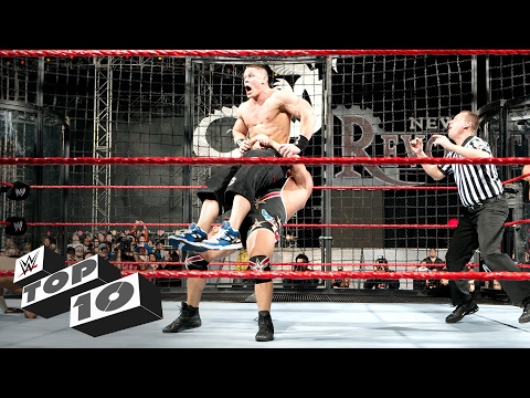 Elimination Chamber Match OMG Moments: WWE Top 10