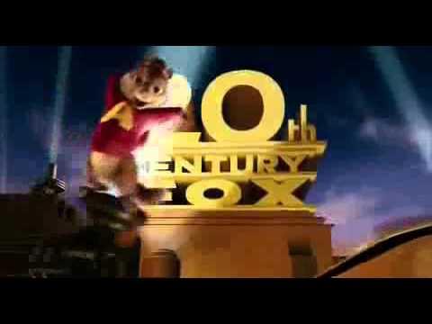 20th Century Fox Logo Chipmunks version Reversed