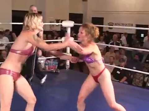 Amy O vs Liz Lightspeed first part of the tournament in 2001