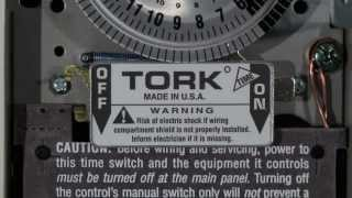 Tork 1101 24 Hour Timer Switch Wiring for 120 Volts