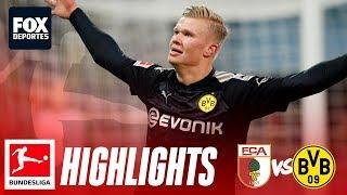 Augsburg 3-5 Borussia Dortmund   HIGHLIGHTS   Bundesliga   Jornada 18