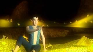 Popular Animated Drama Scenes - Alibaba - Ali Uncovers Treasure Cave