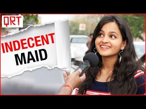 NAUGHTY MAID is Flirting with Me | Adult comedy | Delhi Girls Vs Mumbai Girls | Quick Reaction Team