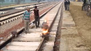 Indian Railway Thermite Welding Full Procedure