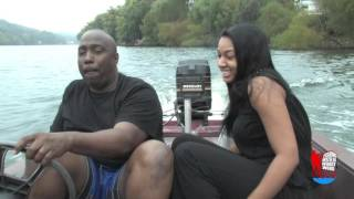 Fishing with DJ Woody Wood Trailer