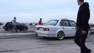 BMW E30(Engine M5 E34 TURBO) vs GOLF VR6 (Syncro) TURBO