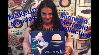 Wet n Wild Midnight Mermaid Collection Review & Try On