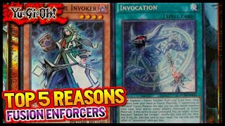 "YUGIOH - Top 5 Reasons to get Fusion Enforcers | ""INVOKE THE FUSIONS"""