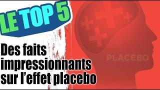 Le top 5 des faits impressionnants sur l'effet placebo