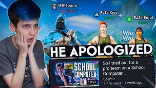 The School Computer Kid Apologized, And This Happened..