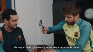Dynamo Enfrenta a Luis Suarez En Un Truco Imposible!