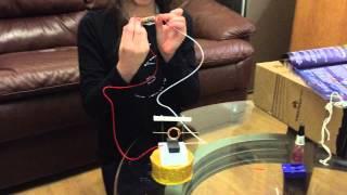 Homemade electric motor