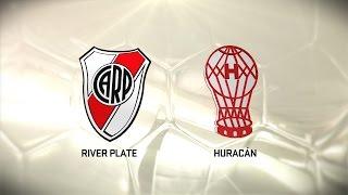 Fútbol en vivo. River vs Huracán. Fecha 11. Torneo de Primera División 2016/2017. FPT