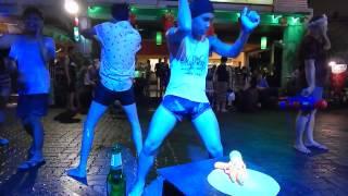 Songkran to gay My way club. Patong beach. Phuket