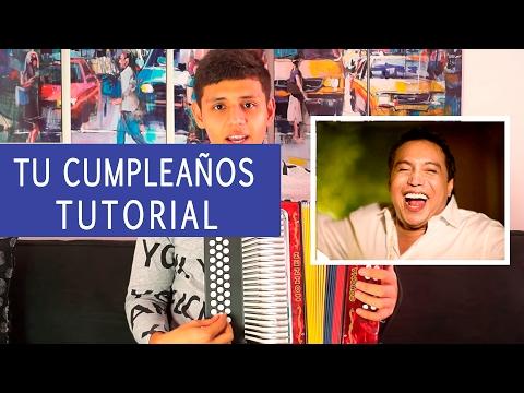 Tu Cumpleaños diomedes Diaz Tutorial de Acordeon Freddy Zuluaga