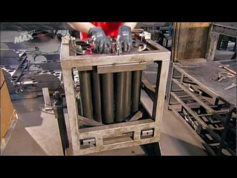 Así se hace Calderas de aceite usado