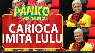 Carioca imita Lulu Santos em entrevista do cantor Daniel | Pânico