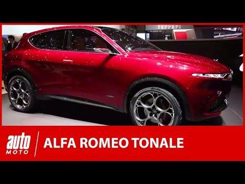 Alfa Romeo Tonale la surprise milanaise du salon de Genève