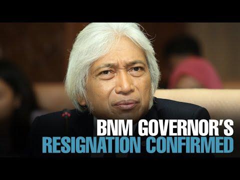 Xxx Mp4 NEWS Gov't Confirms BNM Governor's Resignation 3gp Sex