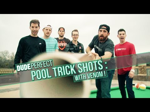 Dude Perfect The Making Of Pool Trick Shots