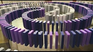 Creating the Domino Art for Collateral Beauty