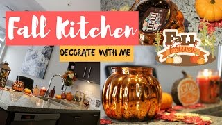 🍁🎃DECORATING FOR FALL ll MY KITCHEN🍁🎃- SLMissGlam👑💕