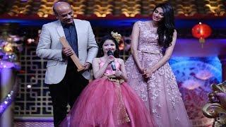 Harshaali Malhotra Sing A Song For Salman Khan @  Big Star Entertainment Award 2015