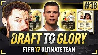 OMG 96 ST RONALDO! - #FIFA17 DRAFT TO GLORY #38